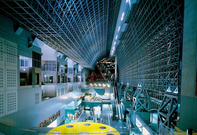 Kyoto station building hotel granvia kyoto for Design hotel kyoto